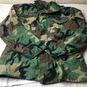 US ARMY Cold Weather Coat Field Woodland Camo